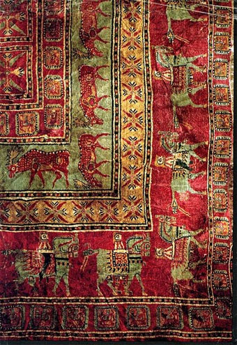 picture of oldest rug