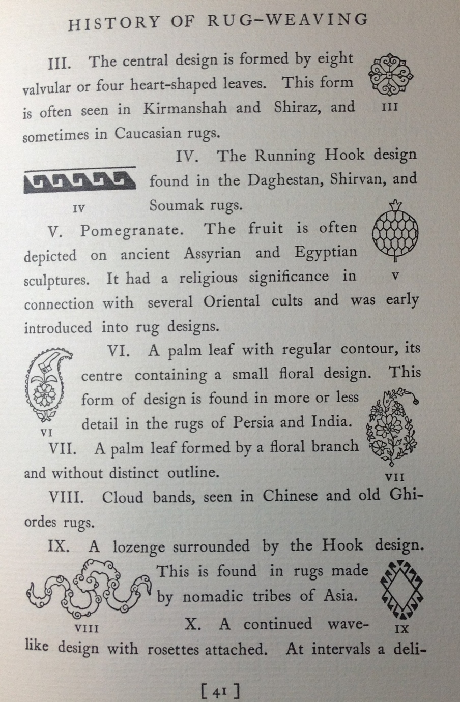 Page 41 Oriental and Occidental Rugs
