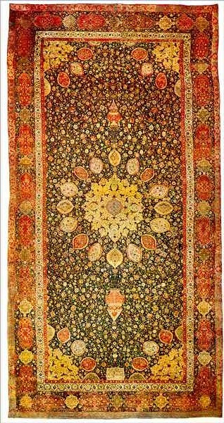ardabil rug victoria and albert museum
