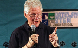 Bill Clinton Pontificating
