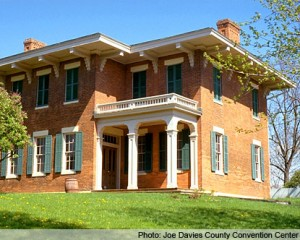 Grant's home in Galena, Il