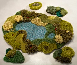 The Rug Art of Alexandra Kehayoglou: an island apart